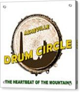Drum Circle Logo Acrylic Print