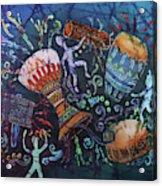 Drumbeat Acrylic Print