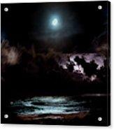 Drummer's Moon Acrylic Print