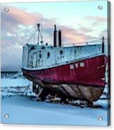 017 - Dry Dock Acrylic Print