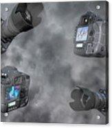 Dslr Cameras Acrylic Print