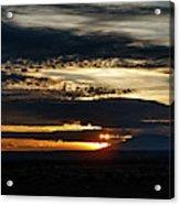 Dual Sunstars At Nipple Bench Sunrise Acrylic Print