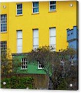 Dublin Castle Colors Two Acrylic Print