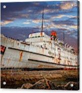 Duke Of Lancaster Ship Acrylic Print
