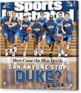 Duke University Basketball Team Sports Illustrated Cover Acrylic Print