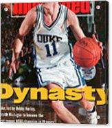Duke University Bobby Hurley, 1992 Ncaa National Sports Illustrated Cover Acrylic Print