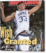Duke University Grant Hill, 1991 Ncaa National Championship Sports Illustrated Cover Acrylic Print