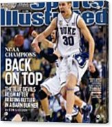 Duke University Jon Scheyer, 2010 Ncaa National Championship Sports Illustrated Cover Acrylic Print