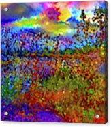 Dusk Someplace Else Acrylic Print