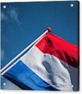Dutch Flag Acrylic Print