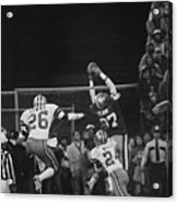 Dwight Clark In Air During Game Acrylic Print