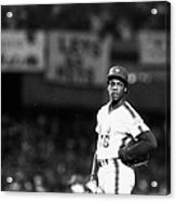 Dwight Goodens First World Series Game Acrylic Print