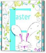 E For Easter Acrylic Print
