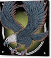 Eagle Illustration  Acrylic Print