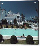 Earl Levys Castle Acrylic Print