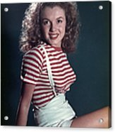 Early Marilyn Portrait Acrylic Print