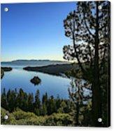 Early Morning Emerald Bay Acrylic Print