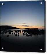 Early Morning Lyme Regis Acrylic Print
