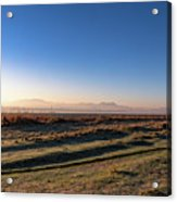 Early Morning Sunrise In Clarens Acrylic Print