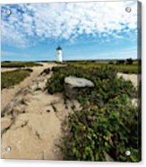Edgartown Lighthouse Marthas Vineyard Acrylic Print