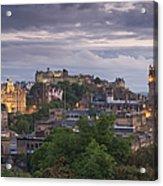 Edinburgh At Dusk Acrylic Print