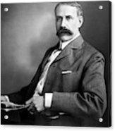 Edward Elgar Studio Portrait Acrylic Print