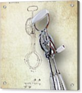 Eggbeater With Antique Eggbeater Patent Acrylic Print