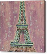 Eiffel Tower- France Acrylic Print