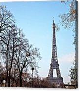 Eiffel Tower In Paris Acrylic Print