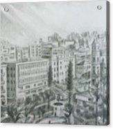 El Mansheya Park - Tripoli Acrylic Print