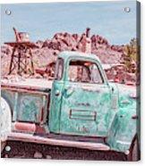 Eldorado Ghost Town Searchlight Nevada Pano Acrylic Print