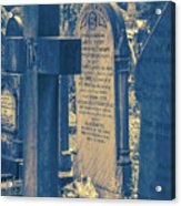 Eleanor Rigby Died in a Church and Was Buried Acrylic Print