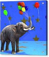Elephant Celebration Acrylic Print