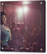 Ella Fitzgerald Performs Acrylic Print