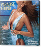 Elle Macpherson Swimsuit 1986 Sports Illustrated Cover Acrylic Print