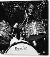 Elvin Jones On Drums Acrylic Print