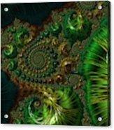 Emerald City. Acrylic Print