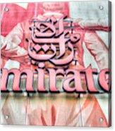 Emirates Logo Emirates Stadium  Acrylic Print