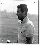 Entertainer Dean Martin Playing Golf Acrylic Print