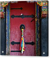 Entrance To The Tibetan Monastery Acrylic Print