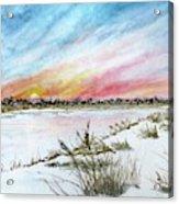 Ephemeral Sunset Acrylic Print