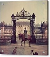 Equestrian Entrance Acrylic Print