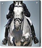 Equestrian Jumper Acrylic Print