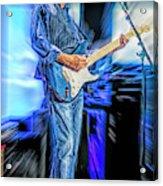 Eric Clapton Slowhand Acrylic Print