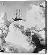 Ernest Shackletons Ship Endurance Acrylic Print