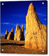 Eroded Rock Formations, Pinnacles Acrylic Print
