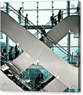 Escalator Acrylic Print
