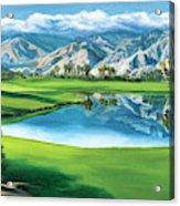 Escena Golf Club Acrylic Print