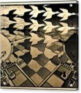 Escher 116 Acrylic Print