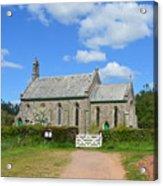 Escot Church Acrylic Print